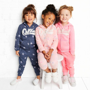 60% Off + Extra 20% Off $40++ Fun Cashs Logo Cozies Fleece @ OshKosh BGosh