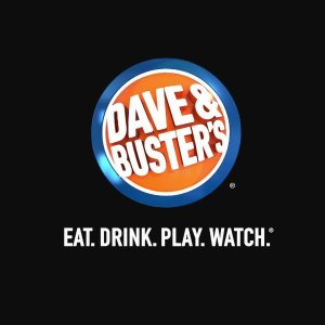 $10 Free Game PlayDave & Buster's with $10 game play purchase