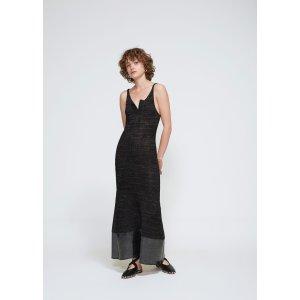Knit Foil Tank Dress