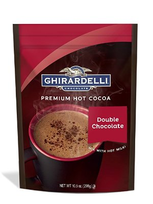 $4.99Ghirardelli Hot Chocolate Pouch, Double Chocolate, 10.5 Ounce