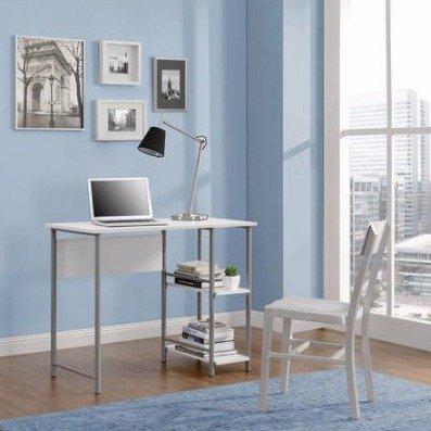 Miraculous 29 99 Mainstays Basic Metal Student Desk Multiple Colors Home Remodeling Inspirations Basidirectenergyitoicom