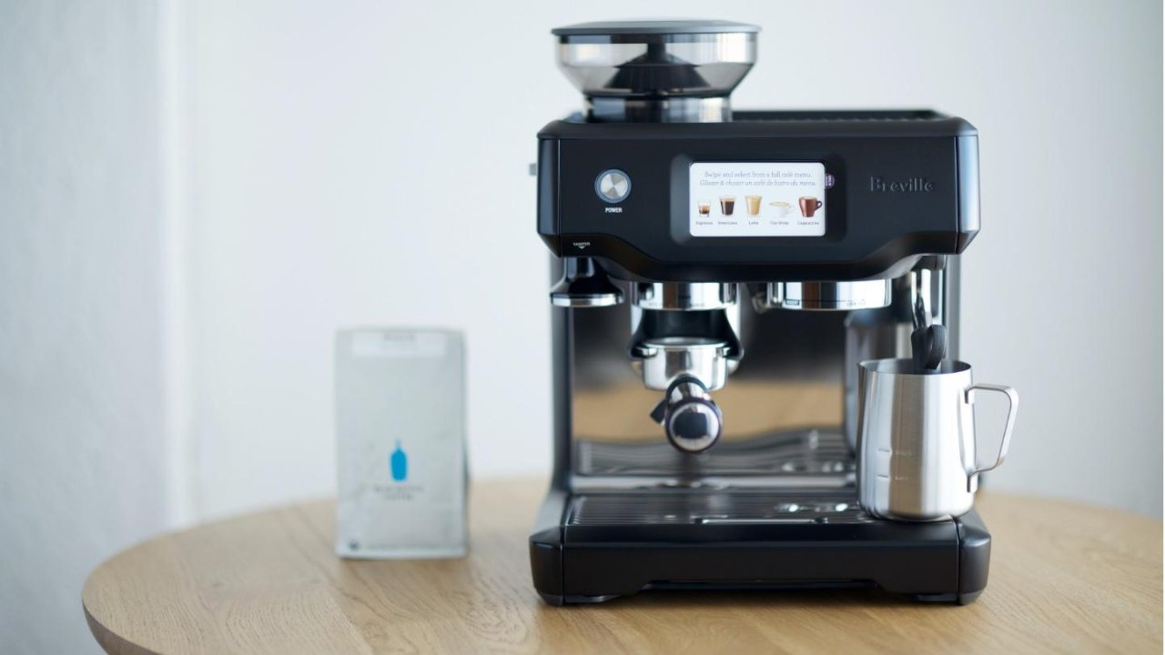"""做咖啡也能""""傻瓜"""",Breville Barista Touch BES880触控智能意式咖啡机"""