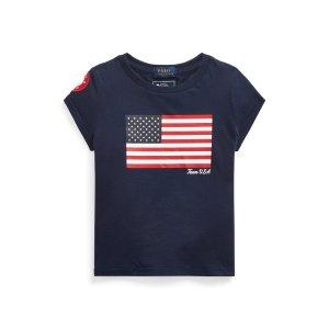 Ralph Lauren奥运美国队系列小童短袖T恤