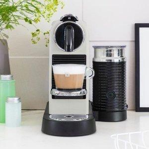 $236(原价$399) Myer发货,附选款攻略Nespresso Citiz 胶囊咖啡机 花式咖啡必备神器