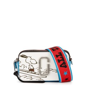 Marc JacobsX Peanuts The Snapshot leather cross-body bag