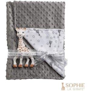 Sophie La Girafe牙咬胶+毯子套装