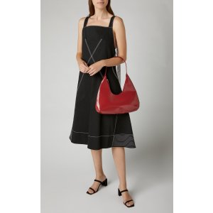 by FARAmber Patent Leather Shoulder Bag