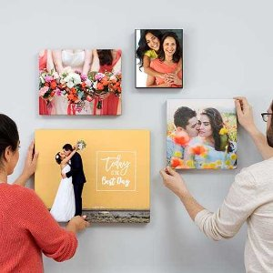 50% OffCanvas Prints & Photo Cubes @ Walgreens