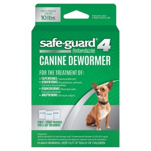 Excel 8in1 Safe-Guard Canine Dewormer for Small Dogs, 3-Day Treatment - Walmart.com
