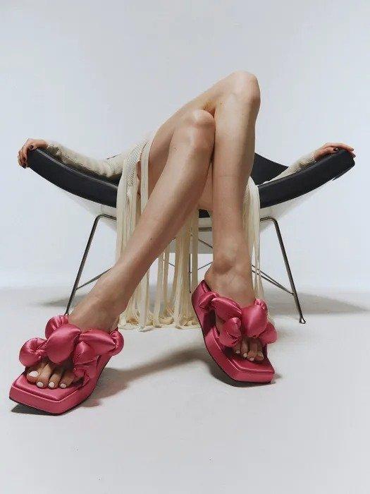 Lia 厚底凉鞋