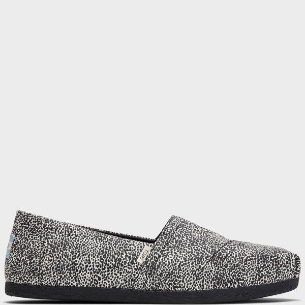 灰色豹纹渔夫鞋