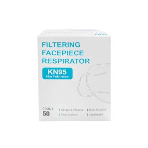KN95 Face Mask 50 Pack (5 bags of 10) Breathing Respiratory protection FDA and CE certification Non-Woven - Monoprice.com