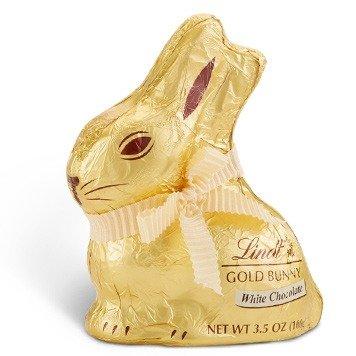 复活节金兔子白巧克力 共16个