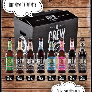 低至5.8折 €27.99收整箱20瓶限今天:CREW Republic 精酿啤酒热卖 夏天常被冰啤酒