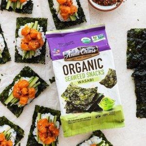 Annie Chun's Organic Seaweed Wasabi 0.16oz 12pks