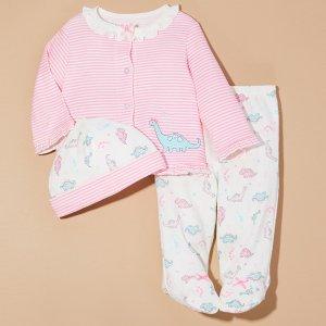 4.5折起Little Me 软萌婴儿服饰促销 剪裁更适合小宝宝