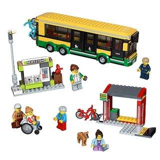 $30.99(原价$49.99)史低价:LEGO 城市系列公交车站 60154  (337 块)