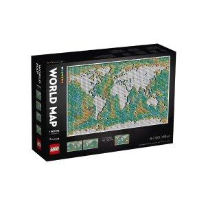 Lego2件6折世界地图 31203
