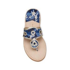 Camo Jacks Flat Sandal