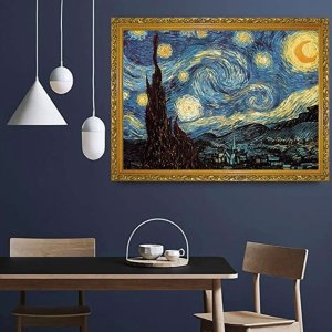 BEIWO Puzzle-Starry Night by Vincent Van Gogh Jigsaw Puzzles, 1000 Piece
