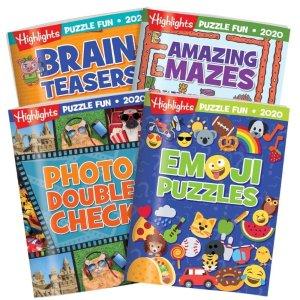 HighlightsPuzzle Fun Collection 2020 4-Book Set