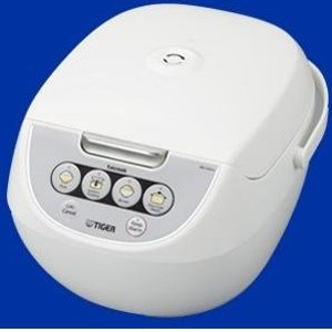 $80(原价$139)史低价:Tiger 虎牌10杯容量电饭锅JBV-A18U-W  带蒸菜和慢煮功能
