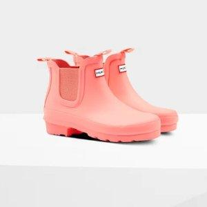 8折 经典黑色有货11周年独家:Hunter 儿童正价雨靴上新  收封面大童切尔西