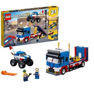 $38.99(原价$64.99)LEGO Creator系列 31085 汽车特技表演