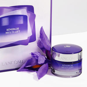 !5% off + Choose your 7 piece sample giftwith a $60+ purchase of Renergie Purchase @ Lancôme
