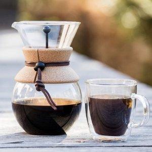全场75折 低至$16.5BODUM 丹麦品牌 咖啡壶 咖啡杯 咖啡冲泡周边 小资生活有情调