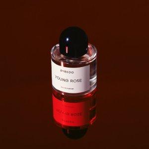 发售价$290上新:Byredo Young Rose 中国限定香 初生玫瑰 不息躁动的青春