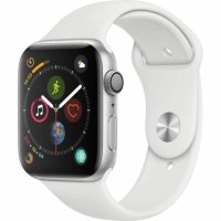 Apple Watch Series 4 44mm Silver AL Sport Band GPS + CELLULAR AU (MTVR2X/A)