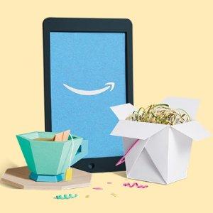 买满$20送$5电子书代金券Amazon 电子书购买特惠