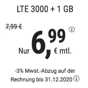 月租€6.99 代号入网送€6.8全网最划算  包月电话/短信+4GB上网+欧盟漫游