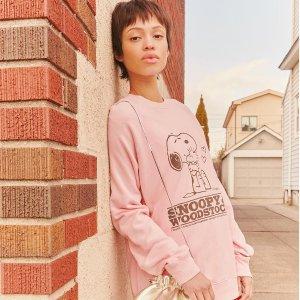 8折 入可爱包包、T恤Marc Jacobs X 史努比联名系列减价 超萌