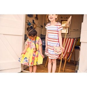 JoulesMulti Stripe Short Sleeve Jersey Dress | AlexandAlexa