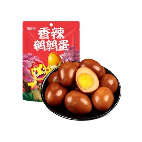 蜀道香 香辣鹌鹑蛋 120g