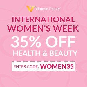 低至5折+额外6.5折 £20收瘦腿胶囊Vitamin Planet 女士专区热促 庆祝妇女节