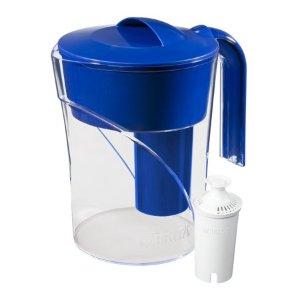 $12.84(原价$18.88)Brita  碧然德6杯容量滤水壶+滤芯