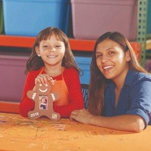 Build a Helicopter & Gingerbread Picture FrameKids Workshop @ Home Depot