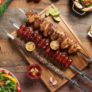 低至7.6折 £16/人(原价£21)Preto 巴西烤肉自助套餐随意吃 超划算超满足