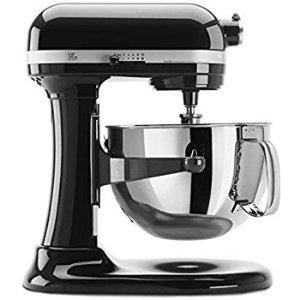 Amazon.com: KitchenAid KP26M1XOB 6 Qt. Professional 600 Series Bowl-Lift Stand Mixer - Onyx Black: Electric Stand Mixers: Kitchen & Dining