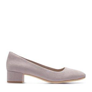Orabella Alice Lilac 粗跟鞋