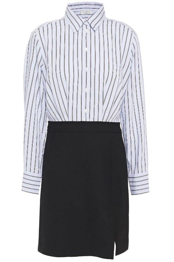 Gills striped 连衣裙