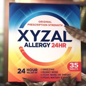 免费领取试用包Xyzal 24小时抗过敏药 有过敏困扰的小伙伴看过来