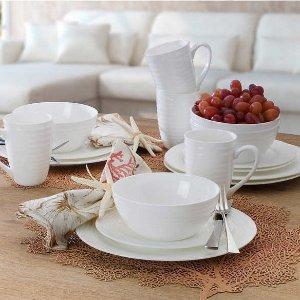 Mikasa、Distinctly Home 等餐具特价  $79收骨瓷餐具20件套
