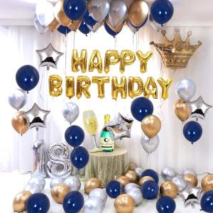 低至€4.99 不出百元就能get的仪式感生日Party氛围气球装饰 创意场景布置 气球、横幅、装饰全都有