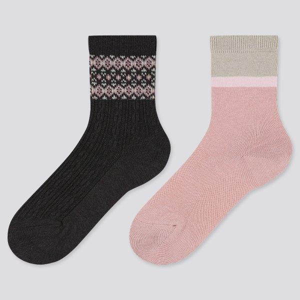 HEATTECH 热暖儿童袜2双