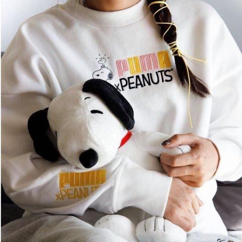 定价$30起 get有爱亲子装PUMA x Peanuts 史努比可爱联名热卖 小细节满满