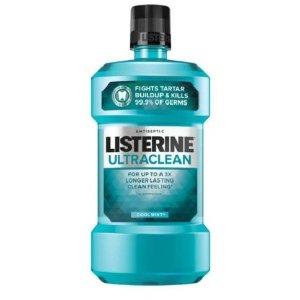 $4.98(原价$9.1)Listerine 超洁净口腔护理抗菌漱口水 清爽薄荷味